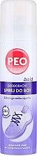 Духи, Парфюмерия, косметика Дезодорант спрей для обуви - Astrid Antibacterial Deodorizing Spray Peo Shoe