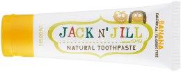 Парфумерія, косметика Дитяча зубна паста з календулою, зі смаком банана - Jack N' Jill