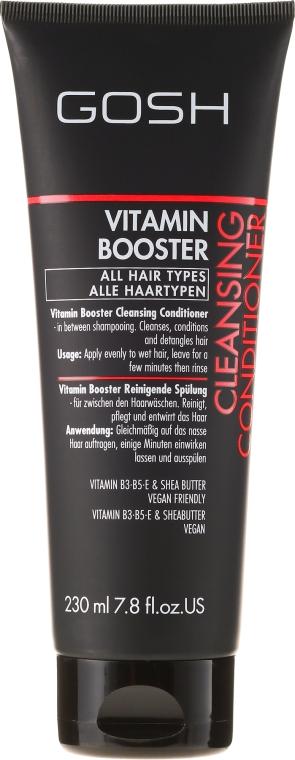 Кондиционер очищающий для волос - Gosh Vitamin Booster Cleansing Conditioner — фото N1