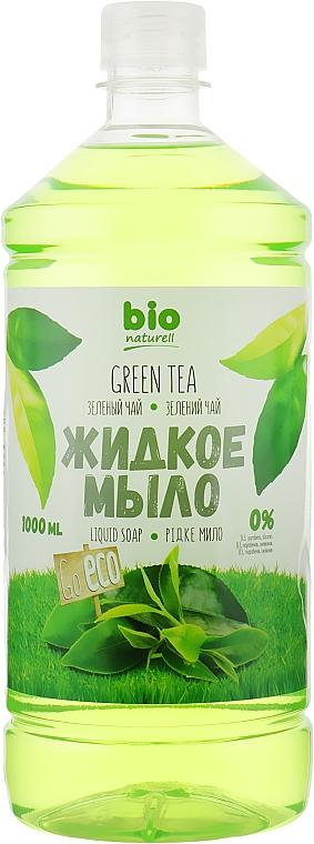 """Жидкое мыло """"Зеленый чай"""" (запаска) - Bio Naturell"""