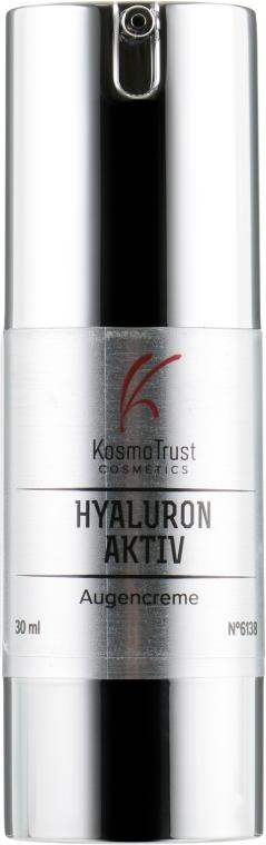 Крем для век с низкомолекулярной гиалуроновой кислотой - KosmoTrust Cosmetics Hyaluron Aktiv Augencreme