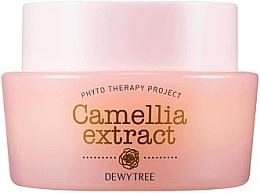 Духи, Парфюмерия, косметика Крем с маслом ши и маслом семян камелии для лица - Dewytree Phyto Therapy Camellia Extract Cream