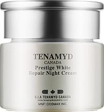 Духи, Парфюмерия, косметика Интенсивно отбеливающий ночной крем для кожи с пигментацией - Tenamyd Canada White Lagoon Prestige White Repair Night Cream