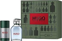 Духи, Парфюмерия, косметика Hugo Boss Hugo Men - Набор (edt/75ml + deo/75ml)