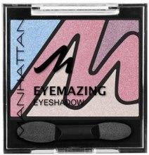 Духи, Парфюмерия, косметика Тени для век - Manhattan Eyeshadow Eyemazing Palette