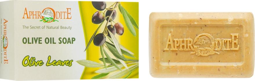Оливковое мыло с оливковыми листьями - Aphrodite Olive Oil Soap