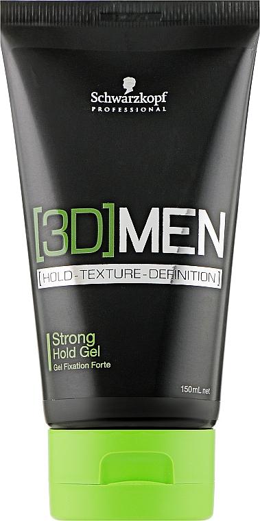 Гель для волос сильной фиксации - Schwarzkopf Professional 3D Mension Strong Hold Gel