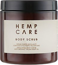 Духи, Парфюмерия, косметика Скраб для тела - Hemp Care Gentle Exfoliating Body Scrub with Organic Hemp Oil