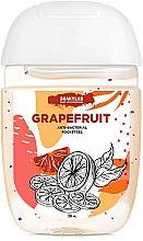 "Парфумерія, косметика Антибактеріальний гель для рук ""Grapefruit"" - SHAKYLAB Anti-Bacterial Pocket Gel"