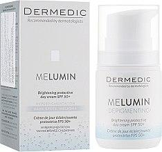 Духи, Парфюмерия, косметика Дневной крем для лица - Dermedic Melumin Depigmenting Cream SPF50