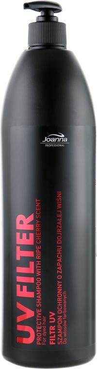 Шампунь с фильтром UV для окрашенных волос с ароматом вишни - Joanna Professional Hairdressing Shampoo