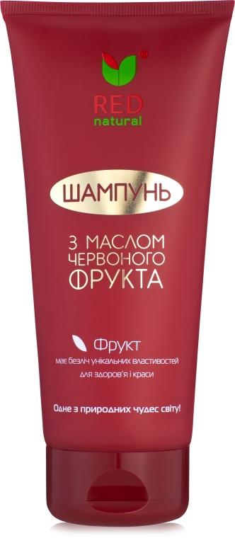 Шампунь для волос с маслом красного фрукта - Red Natural Shampoo