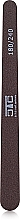 "Духи, Парфюмерия, косметика Пилка ""Капля"" коричневая, пластик, 180/240 - C.T.C Nail Systems"