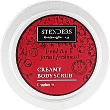 "Духи, Парфюмерия, косметика Скраб для тела ""Клюква"" - Stenders Cranberry Creamy Body Scrub"