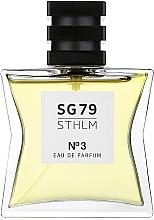 Духи, Парфюмерия, косметика SG79 STHLM № 3 - Парфюмированная вода