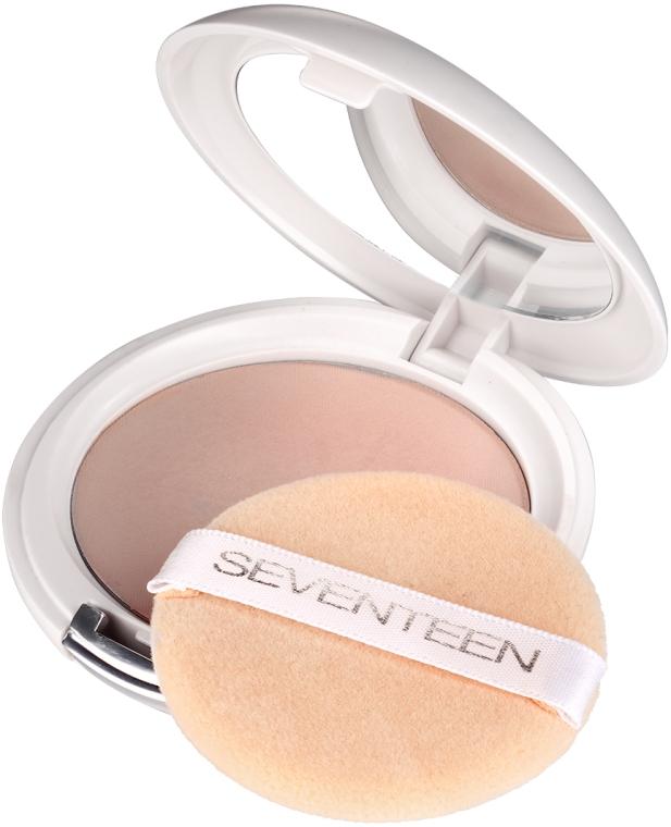Компактная пудра с зеркалом - Seventeen Natural Silky Compact Powder