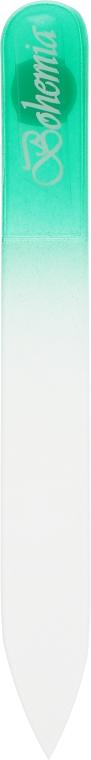 Пилка для ногтей стеклянная 90 мм, 03-071A, зеленая - Zauber