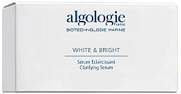 Духи, Парфюмерия, косметика РАСПРОДАЖА Отбеливающая сыворотка для лица - Algologie White & Bright *