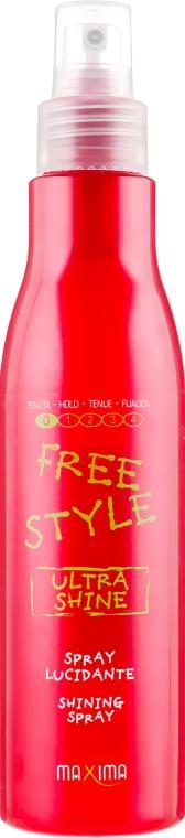 Спрей для блеска волос - Maxima Free Style Ultra Shine