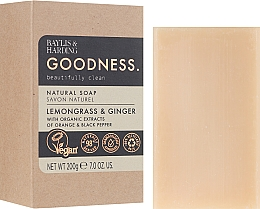 Парфумерія, косметика Мило - Baylis & Harding Goodness Sea Lemongrass & Ginger Natural Soap