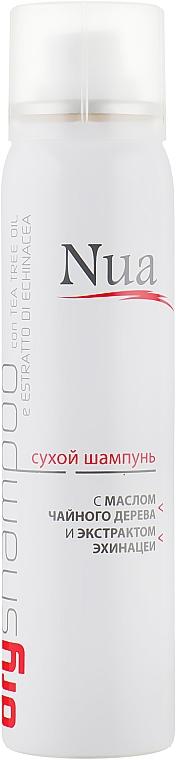 Сухой шампунь с маслом чайного дерева и экстрактом эхинацеи - Nua Dry Shampoo