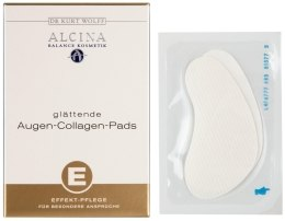 Духи, Парфюмерия, косметика Коллагеновые салфетки для век - Alcina Collagen Eye Wipes