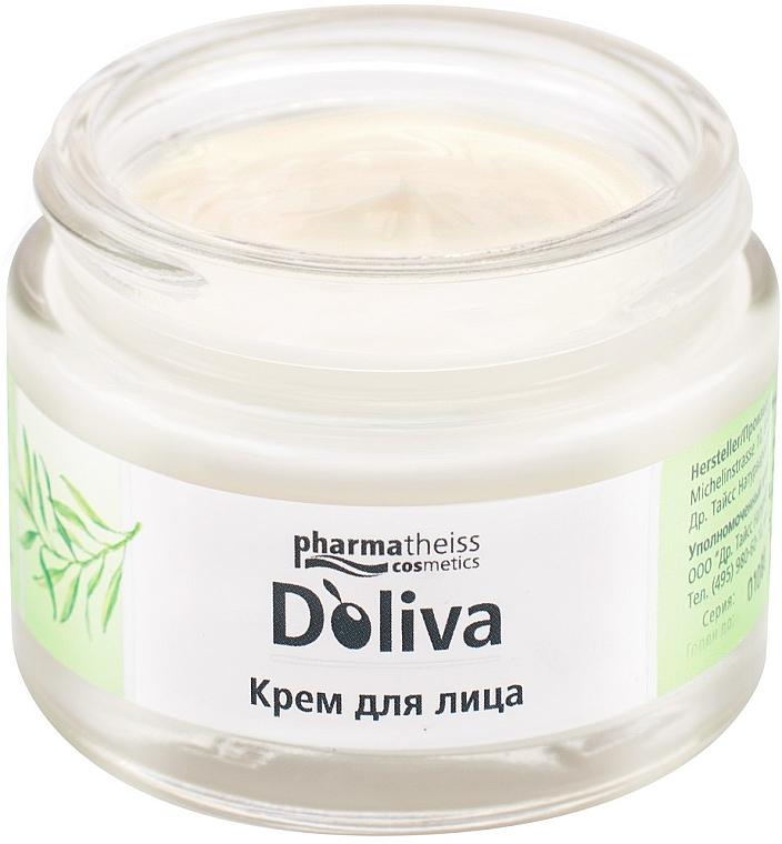 Крем для сухой и чувствительной кожи лица - D'oliva Pharmatheiss Cosmetics