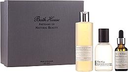 Парфумерія, косметика Bath House Spanish Fig and Nutmeg - Набір (edc/100ml + sh/gel/260ml + oil/30ml)