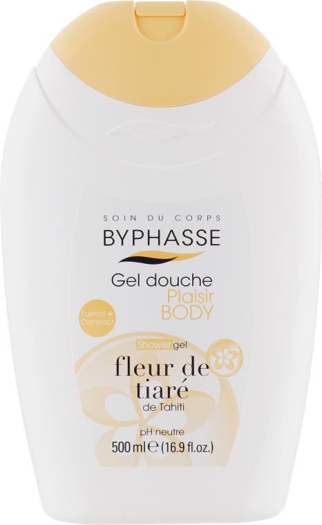 Гель для душа - Byphasse Plaisir Shower Gel Tiare flower