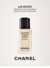 Тональный флюид - Chanel Les Beiges Healthy Glow Foundation Natural Beaute SPF 25 PA++ (пробник) — фото N1
