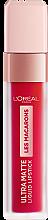 Духи, Парфюмерия, косметика Ультра-матовая жидкая помада - L'Oreal Paris Les Macarons Ultra Matte Liquid Lipstick