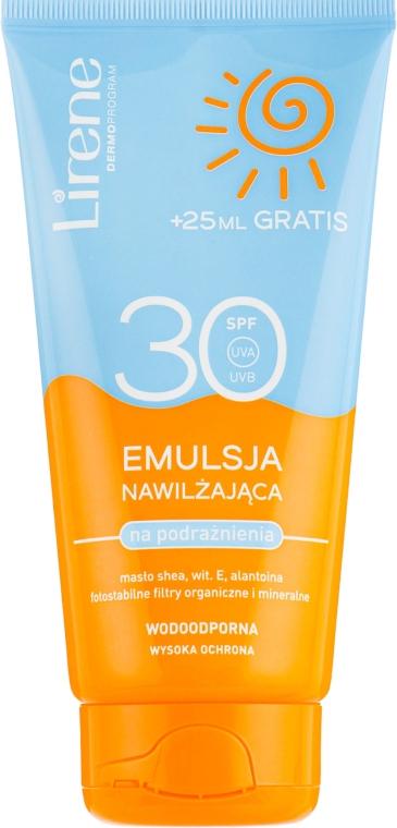 Эмульсия для загара - Lirene Sun Care Moisturizing Emulsion SPF30