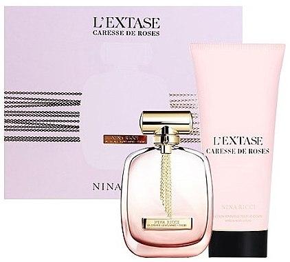 Nina Ricci L'Extase Caresse De Roses - Набор (edp/50ml + b/l/100ml)