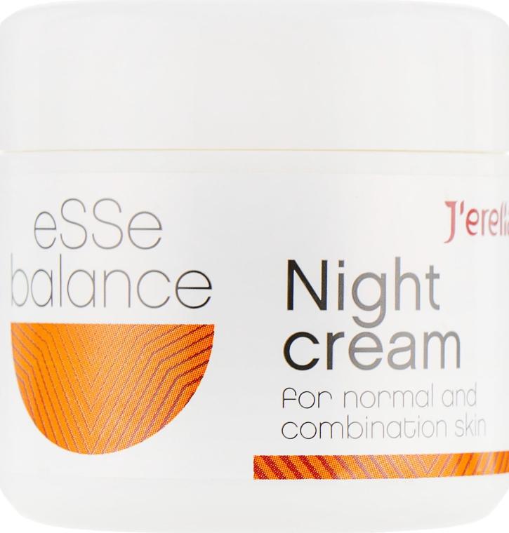 Ночной крем для нормальной и комбинированной кожи - J'erelia Esse Balance