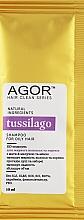 Духи, Парфюмерия, косметика Био-шампунь для жирных волос - Agor Hair Clean Series Tussilago Shampoo For Oily Hair (пробник)