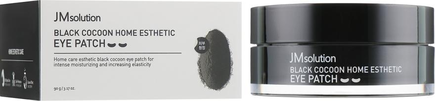 Гидрогелевые ультраувлажняющие патчи - JMsolution Black Cocoon Home Esthetic Eye Patch