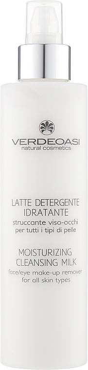 Увлажняющее молочко для снятия макияжа с лица и глаз для всех типов кожи - Verdeoasi Cleanse Moisturizing Cleansing Milk