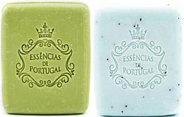 Духи, Парфюмерия, косметика Подарочный набор - Essencias de Portugal Christmas Gift 7 (soap/2x80g)