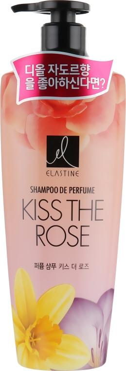 Парфюмированный шампунь для волос - LG Household & Health LG Elastine Kiss The Rose Shampoo
