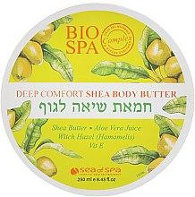 Духи, Парфюмерия, косметика Крем-масло для тела с маслом Ши и оливковым маслом - Sea Of Spa Bio Spa Deep Comfort Shea Body Butter