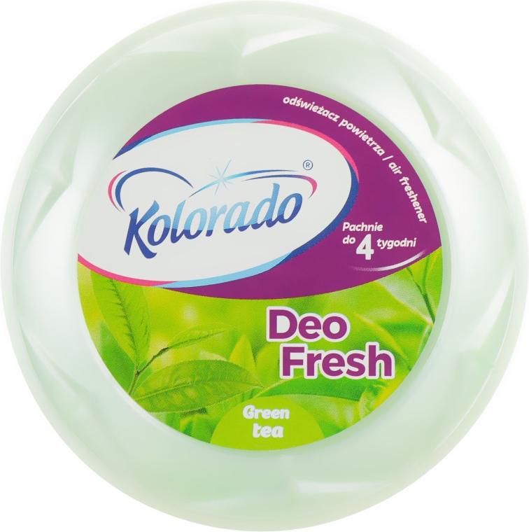 """Гелевый освежитель воздуха """"Зеленый чай"""" - Kolorado Deo Fresh Deluxe"""