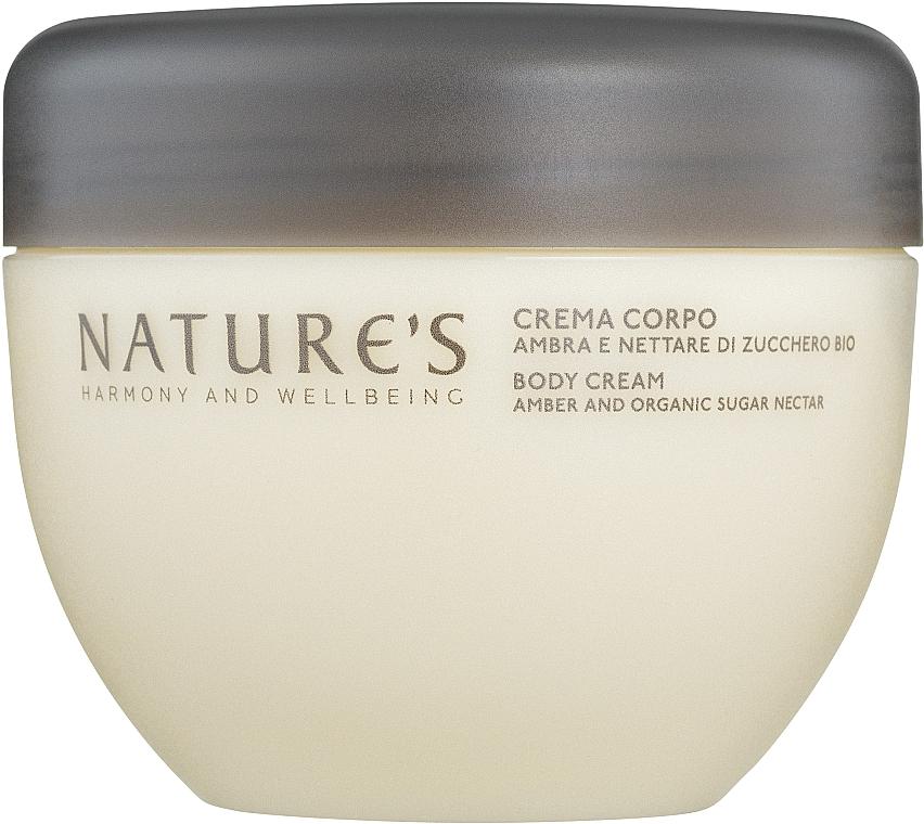 Nature's Zucchero d'Ambra - Крем для тела