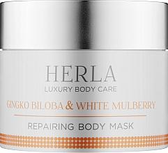 Духи, Парфюмерия, косметика Маска для тела - Herla Luxury Body Care Gingko Biloba & White Mulberry Body Mask