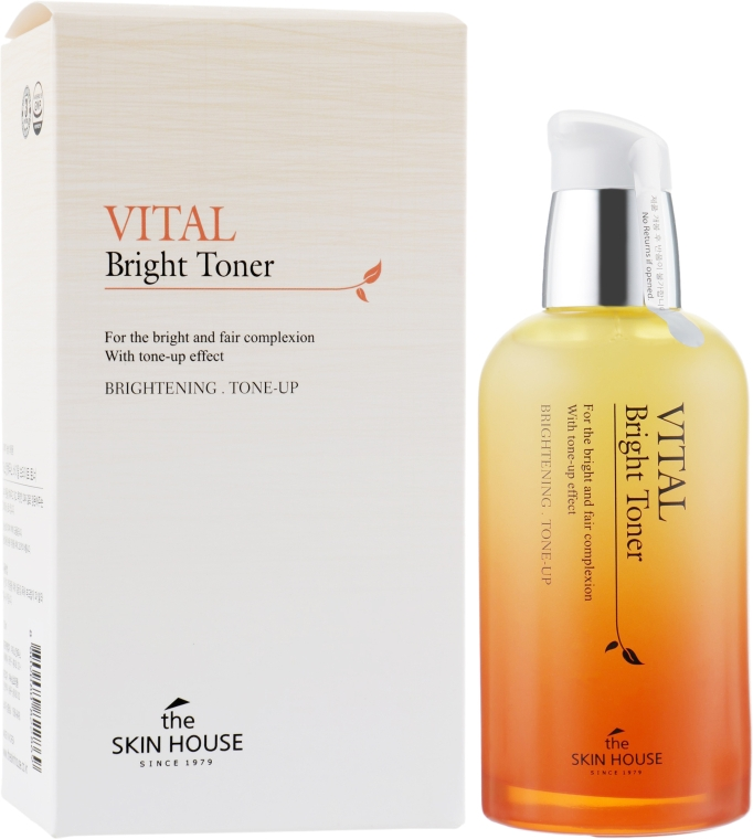 Тонер для ровного тона лица - The Skin House Vital Bright Toner