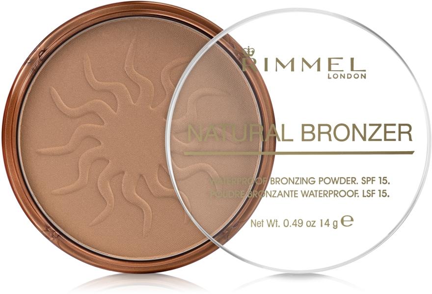 Бронзирующая пудра для лица - Rimmel Natural Bronzer Powder