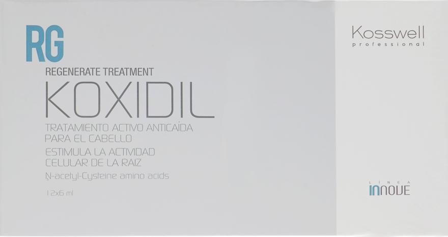 Ампулы против выпадения волос - Kosswell Professional Innove Koxidil Active Hair Loss Treatment