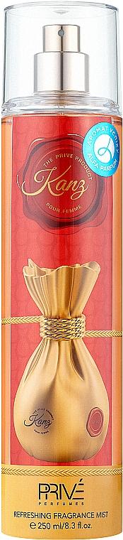Prive Parfums Kanz - Спрей для тела