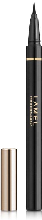 Подводка-фломастер для глаз - Lamel Professional Studio Brush Eyeliner