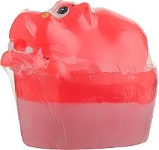 """Духи, Парфюмерия, косметика Глицериновое мыло """"Бегемот. Большая игрушка"""" - Organique Soaps Hippo"""