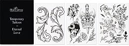 Духи, Парфюмерия, косметика Черные переводные тату - Miami Tattoos Midcentury